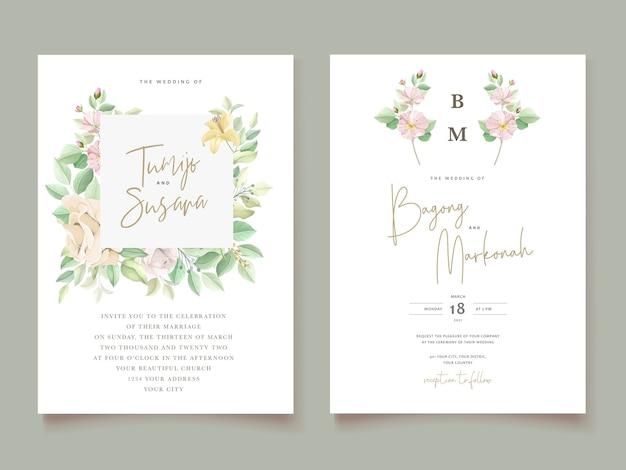 Элегантный набор свадебных приглашений
