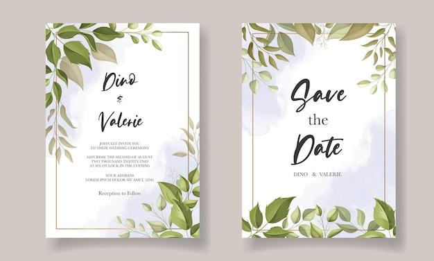 Элегантный дизайн шаблона свадебного приглашения
