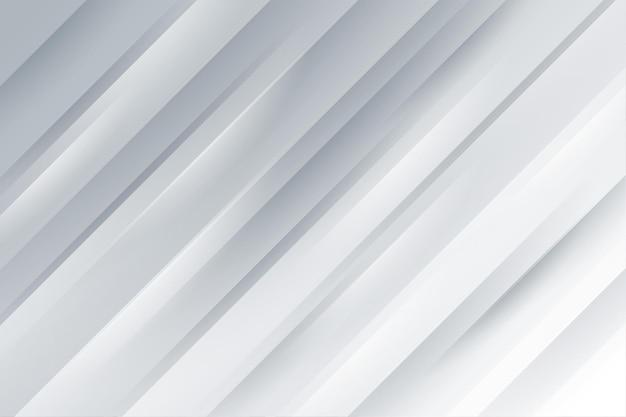 光沢のある影のラインとエレガントな白い背景