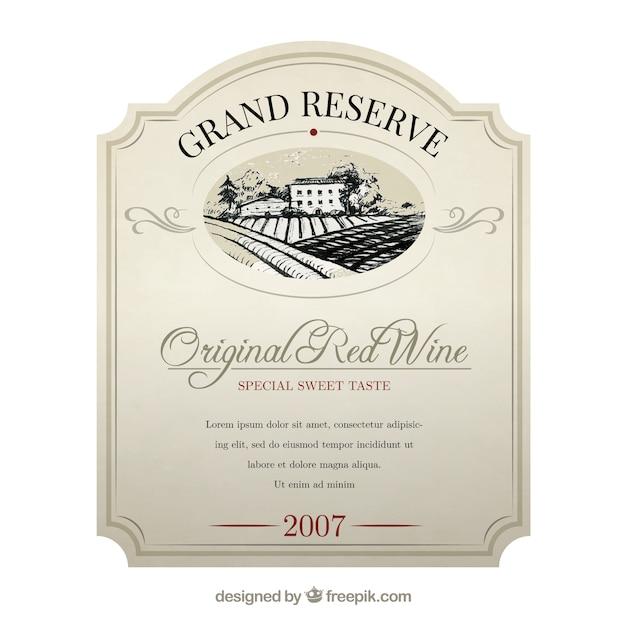 wine label psd - Ataum berglauf-verband com