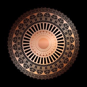 装飾的な曼荼羅のデザインでエレガント