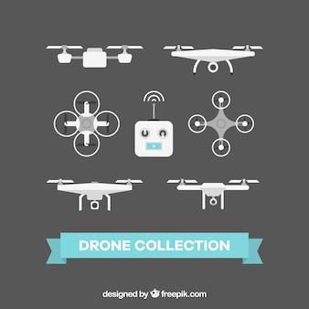 Elegat pack of flat drones