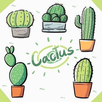 Элемент кактуса элемента