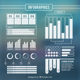 Elements for infography