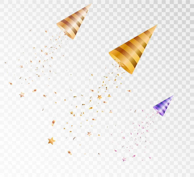 Элементы праздничной иллюстрации падающих кусочков леденцов falga stars