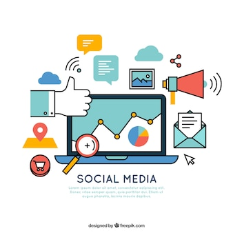 Elements related to social media