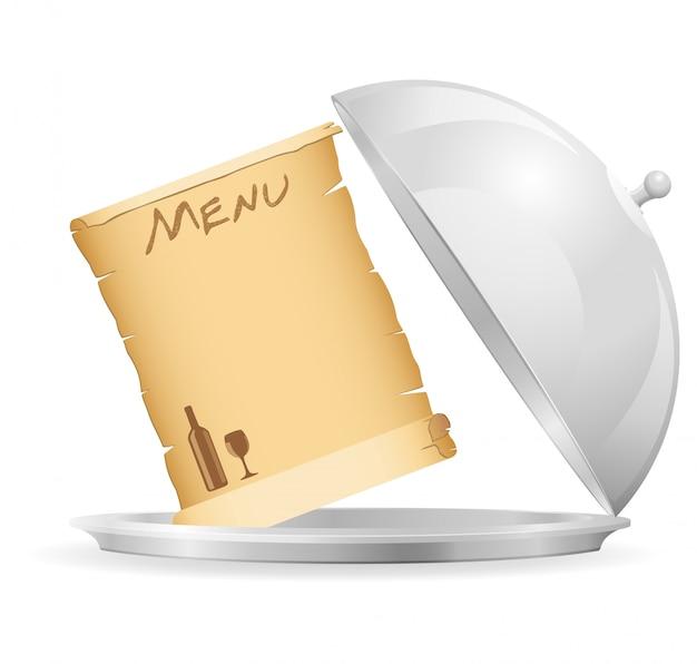 Elements for restaurant vector illustration