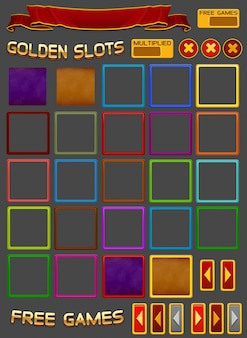 Elements for slots game
