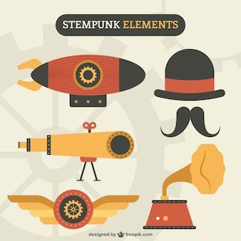 Gli elementi del design steampunk