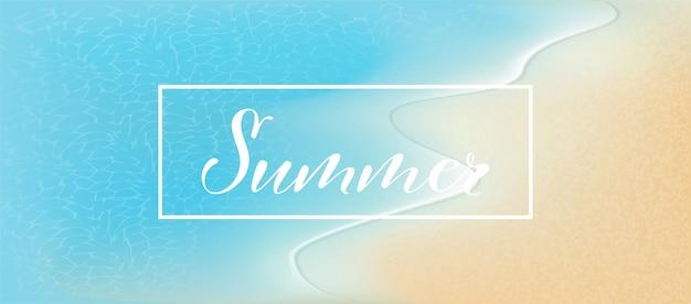 要素夏セールプロモーションショッピング、夏のプロモーション、ビーチでの休日、webバナーテンプレート背景3 dスタイル