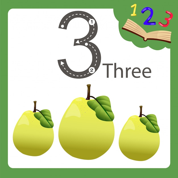 Elements of three number quince