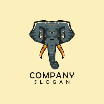Elephant animal logo