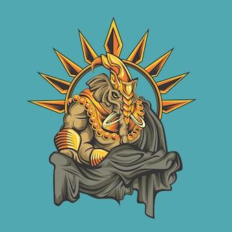 코끼리 신