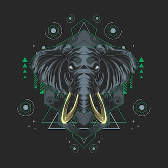 Elephant sacred geometry