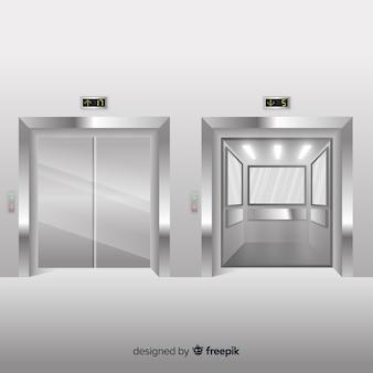 Elevators set