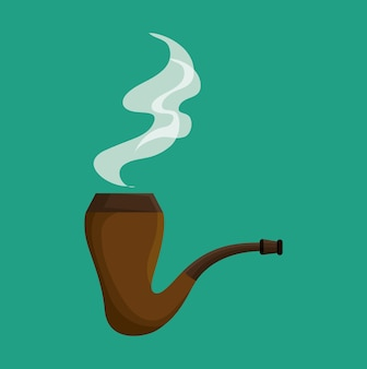 Elf Smoking pipe icon