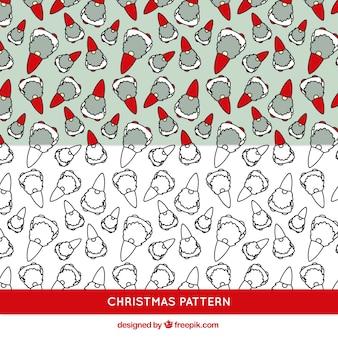 クリスマスelfsパターン