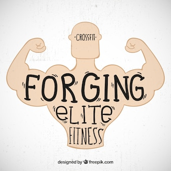Elite fitness background