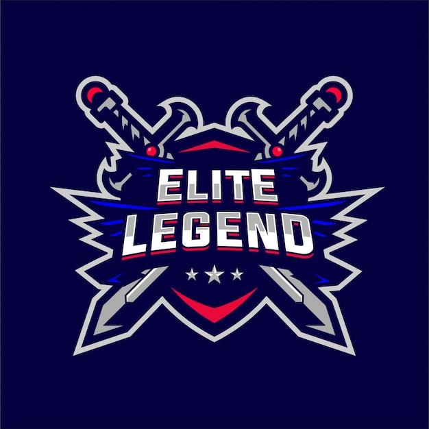 Elite legend esport логотип