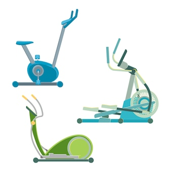 Elliptical training apparatuses