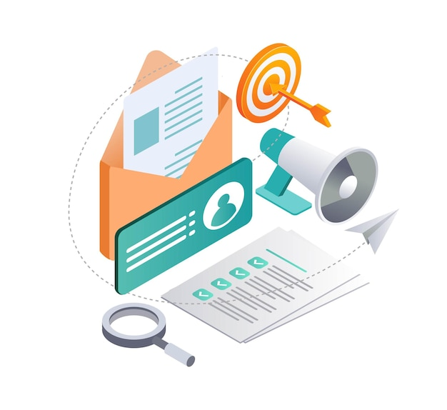 Email campaigns and digital marketing strategy