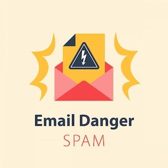 Опасность по электронной почте