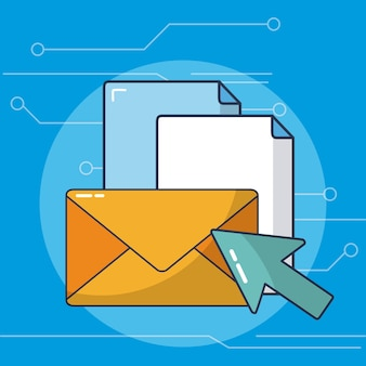 Email and documents internet sending