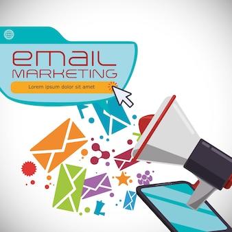 Email marketing and communication media design