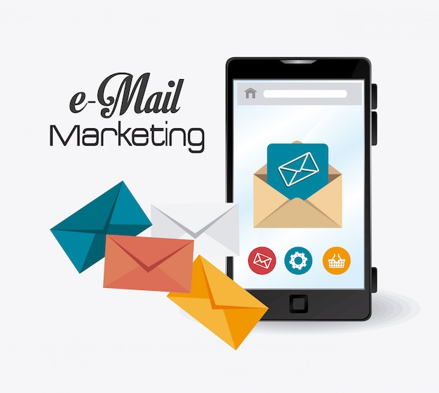 Email marketing design.