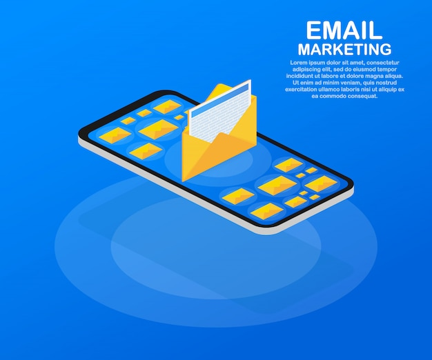 Email marketing, newsletter marketing, email subscription template