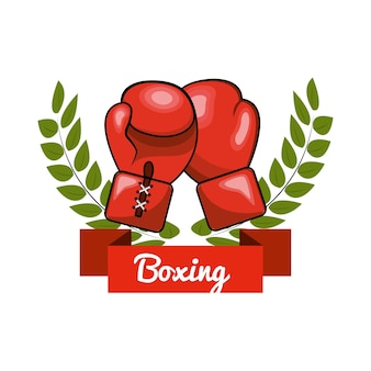 Emblem boxing game icon