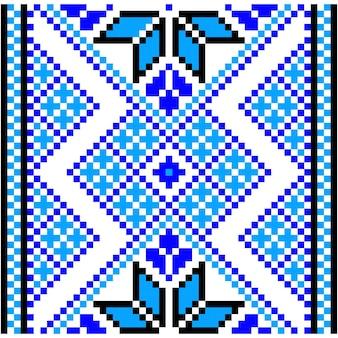 Вышивка. украинский национальный орнамент. векторная иллюстрация