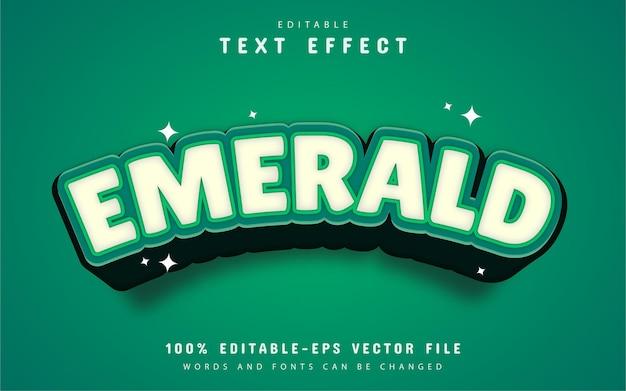Emerald text effect