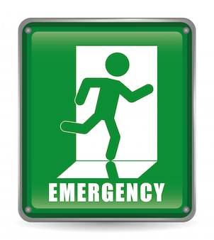Emergency design illustration