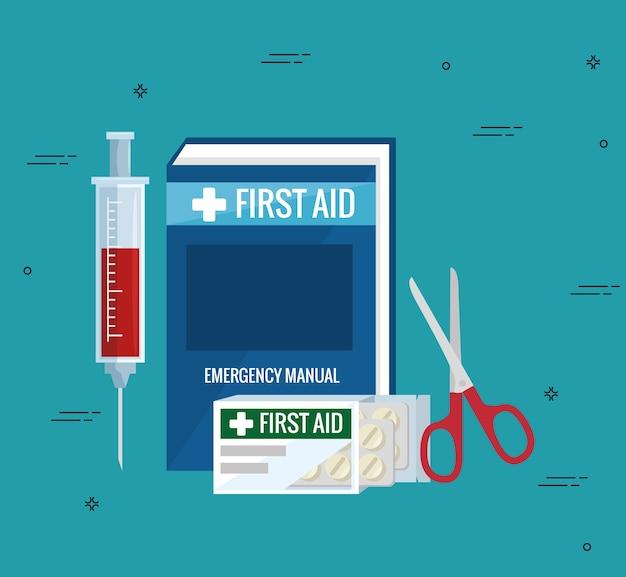 Значки аварийной первой помощи