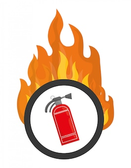 Emergency icon, vector illustration