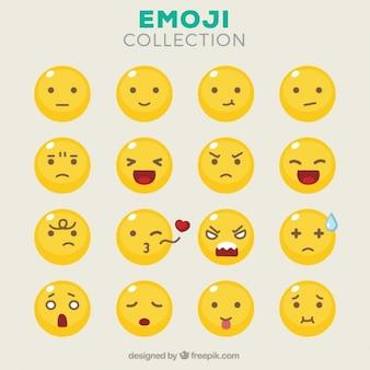 異なる表情を持つ顔文字