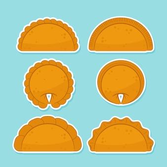 Концепция коллекции empanada