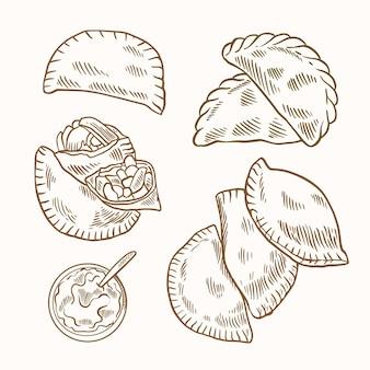Empanada collection
