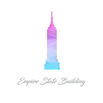 Empire state building, polygonal