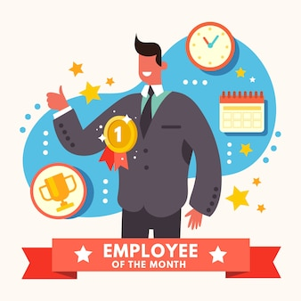 Employee of the month concept