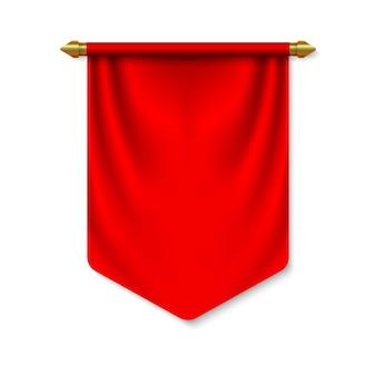 Пустой флаг 3d вымпел