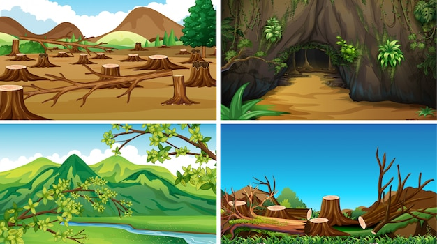 Empty background nature scenery or background