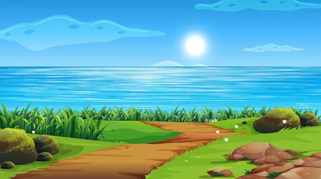 Empty background nature scenery