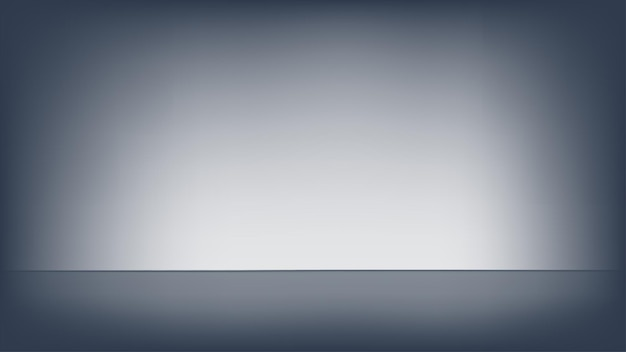 Empty black studio room.  template used as background for display your products.