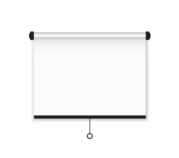 Empty board for advertising, conferences and projects.