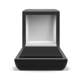 Empty box for jewelry