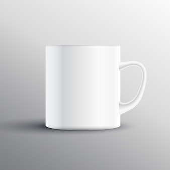 Empty cup mockup design