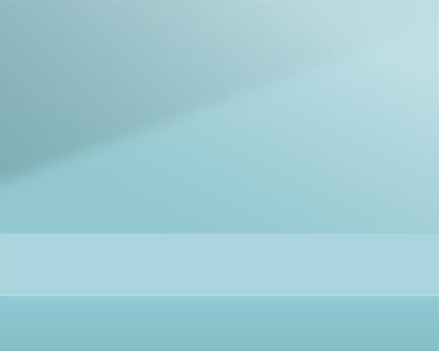 空のシリンダー表彰台。製品プレゼンテーションのデザイン。