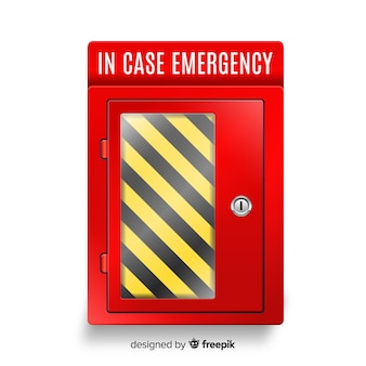 Empty emergency box design